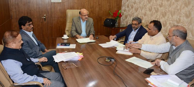 Chief Secretary chairs SEC of SDRF: 30 crore released to districts