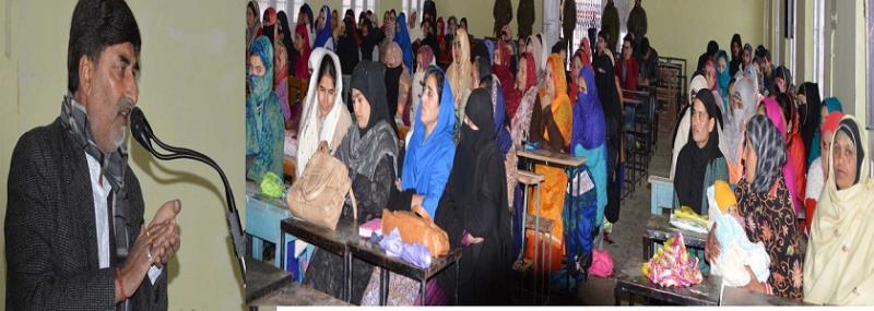 Handicraft Department Organises Awareness Camp
